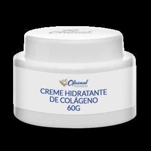 Creme Hidratante de Colágeno 60g - Para o Rosto