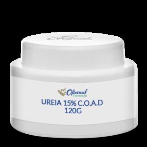 Ureia 15% C.O.A.D - 120g - Hidratante Corporal