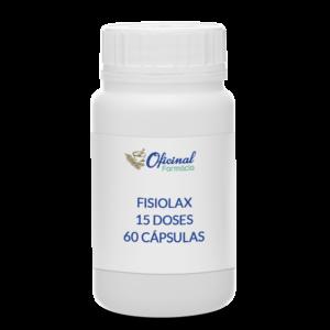 Fisiolax 15 Doses – 60 cápsulas - Emagrecimento